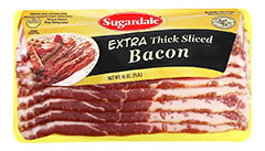 Extra Thick Sliced Bacon