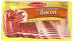 Lower Sodium Bacon