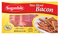 Thin Sliced Bacon