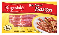 Thin Sliced Bacon