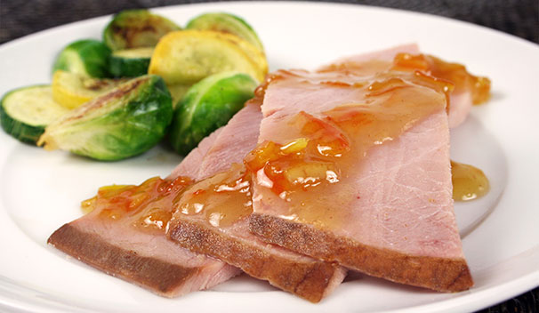 Ham Roast with Orange Marmalade Glaze