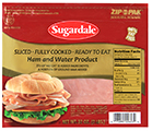 Sliced Ham & Water Product