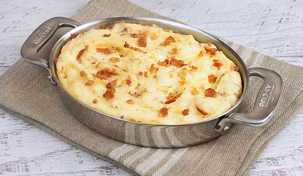 Bacon Mashed Potato Casserole