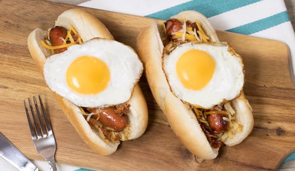 Rise-n-Shine Hot Dogs